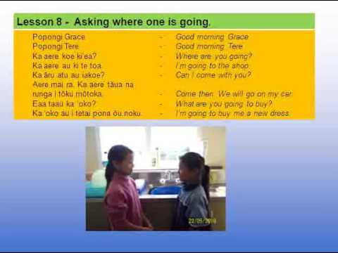 LEARN COOK ISLANDS LANGUAGE - Lesson 8