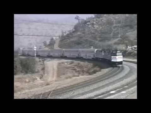 Michael Dukakis Amtrak Campaign Train w/ SP 150 Sunset 1988