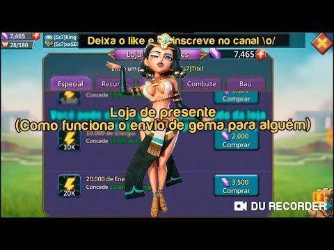 🎮 Loja de presente (Como funciona o envio de gema para alguém) - Lords mobile from YouTube · Duration:  11 minutes 43 seconds
