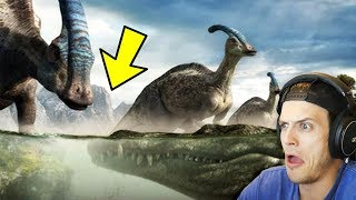 OH GOD NOT THE BABIES! - Most INSANE Dinosaur Take Down Videos (Reaction)