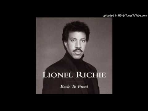 Lionel Richie - Back to front - Running with the night