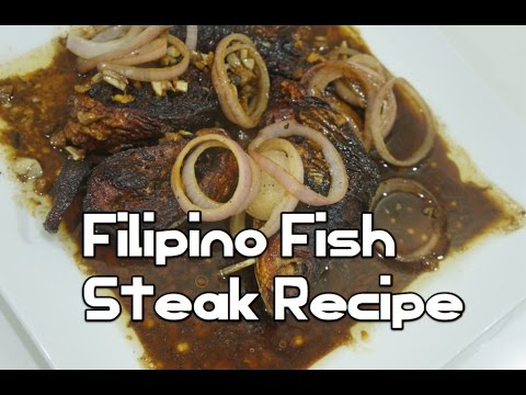 Tanigue steak doovi for Fish steak recipe