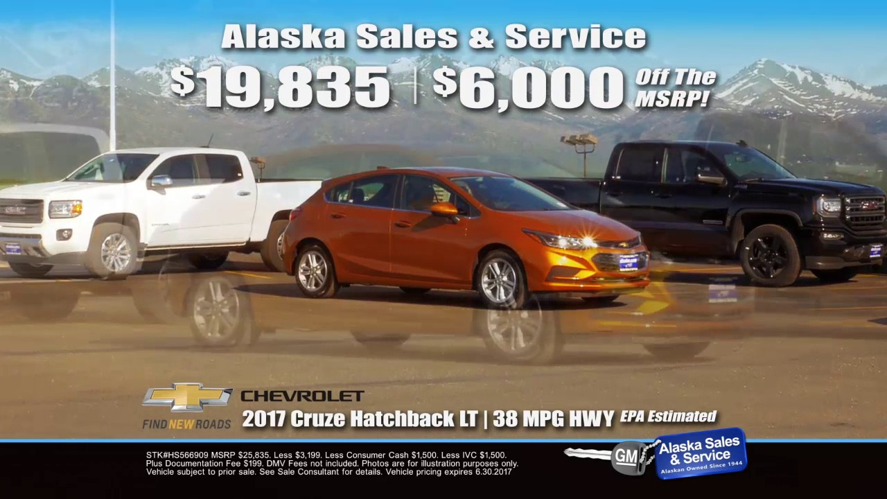 2017 Chevy Cruze Msrp >> 2017 Chevy Cruze Up To 6 000 Off Msrp At Alaska Sales Service Anchorage