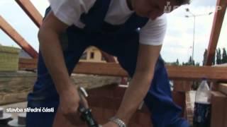 Montáž betonového komína