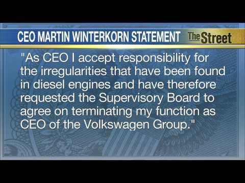 Martin Winterkorn, Volkswagen CEO, Resigns After Emissions Scandal