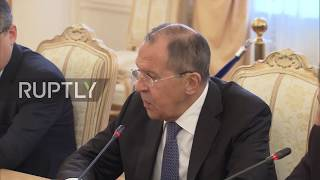 Russia  Lavrov welcomes Laos' FM to discuss ASEAN cooperation