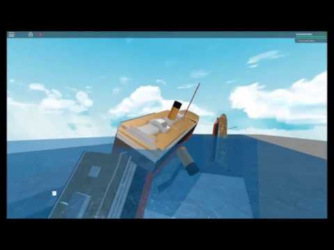 how to build ships sinking ship simulator