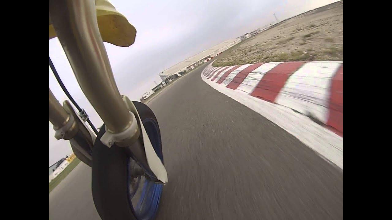 Circuito Zuera : Tanda en el circuito de zuera supermotard youtube