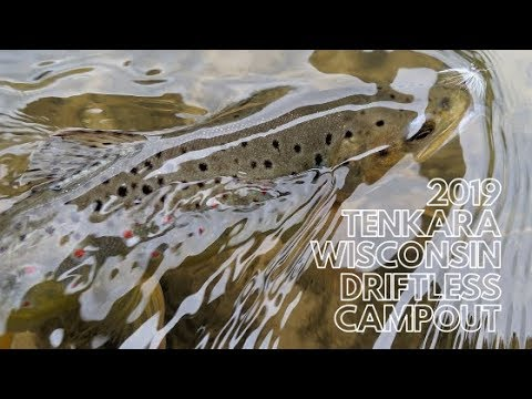 2019 Tenkara Wisconsin Driftless Campout
