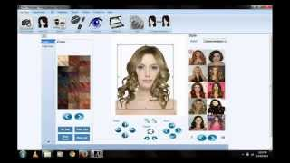 Virtual Hair Salon System DemoHD - By HackSys Software Solution