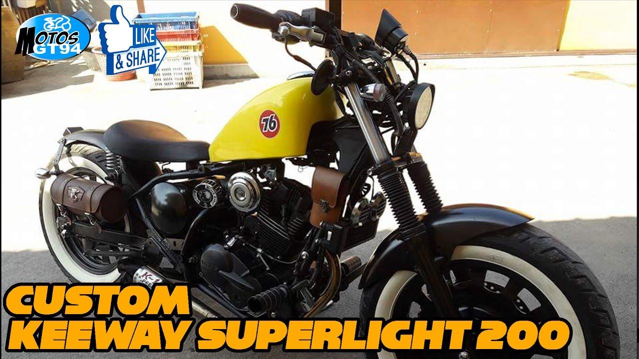 Keeway Superlight 200 Modificada