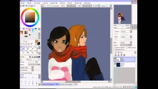 The amazing spiez speedpaint Marc and Megan