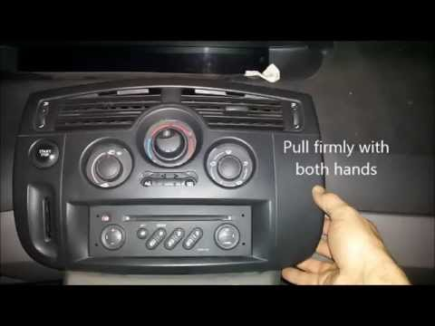 Replace keycard reader renault scenic 2014