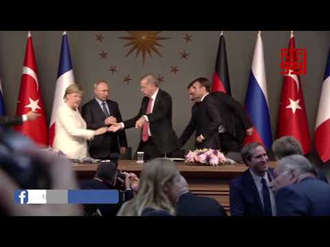 One of popular video of Erdogan and finding behind it