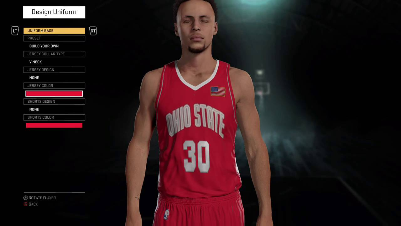 Ohio State Throwback Jersey And Court Early 00s Youtube