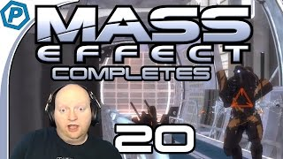 Mass Effect 1 | Eyes burn from the Hologram light | Peter Completes | #20