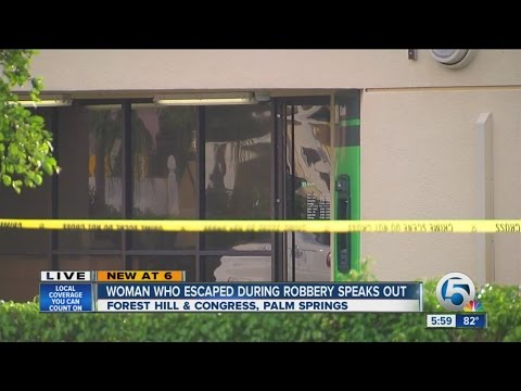 Bank robbery suspect shot by police in Palm Springs