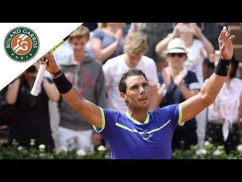 Rafael Nadal v Benoit Paire Highlights - Men's First Round 2017 | Roland-Garros