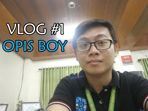 VLOG #1 OPIS BOY
