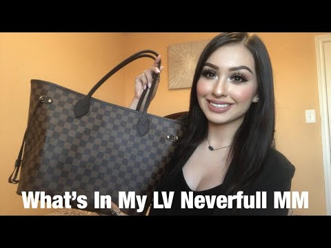 What's In My LV Neverfull MM?💋