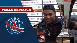 VEILLE DE MATCH : PARIS SAINT-GERMAIN vs RENNES with Mbappé