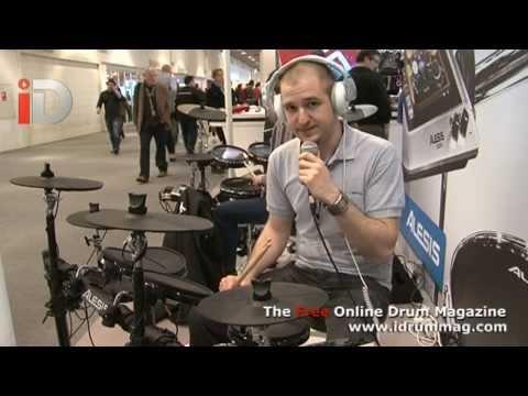 Alesis DM7X Kit Demo with Daniel Schlep Musik Messe 2013