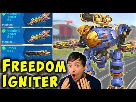 NEW FREEDOM IGNITER Inquisitor - INSANE Mk2 War Robots Gameplay WR