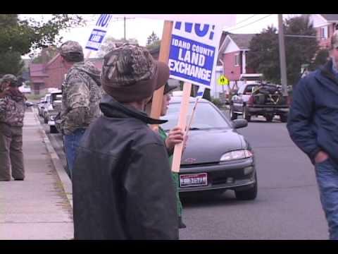 Land Swap Protest
