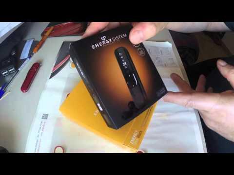 Reproductor mp3 Stick Black de Energy Sistem (unboxing)
