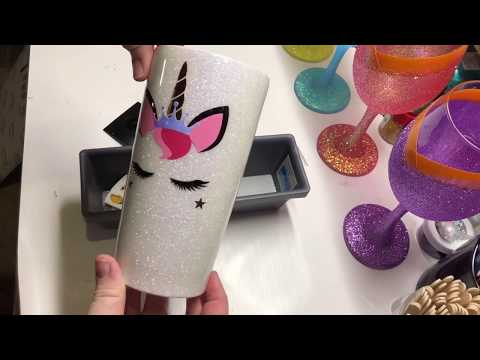 DIY: How To Apply A Layered Unicorn To Tumbler