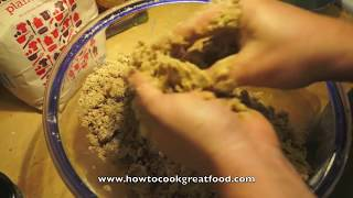Apple Crumble Recipe How To Cook Great Food Pudding Cake Sweet Rhubarb