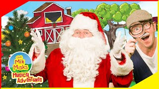Christmas Tree & Santa Claus Find | Educational Videos for Kids | The Mik Maks