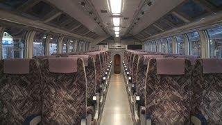 【車内撮影】KTR001形「タンゴエクスプローラー」4号 豊岡駅