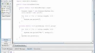 Java Basics - Array Examples