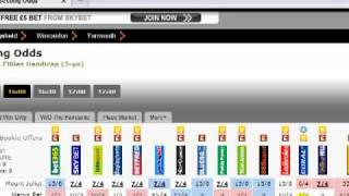 Horse Race Betting - Looking For Value