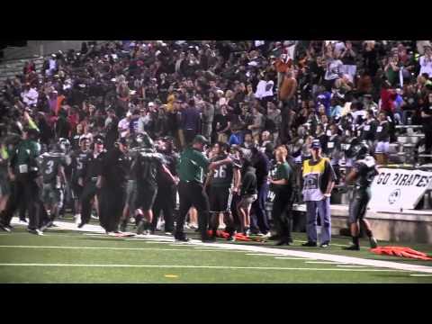 Poteet High School vs. West Mesquite Football Game Highlight, Nov. 9, 2012