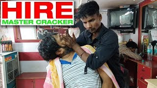 Master Cracker is back again with his amazing head massage techniques | Indian Massage