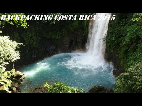 Costa Rica backpacking 2015 GoPro