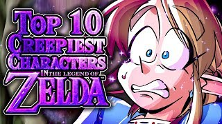 Top 10 Creepiest Characters in the Zelda Series!