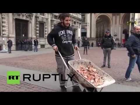 Italy: Protesters slam Renzi's 'Good School' reforms on Student Day in Milan