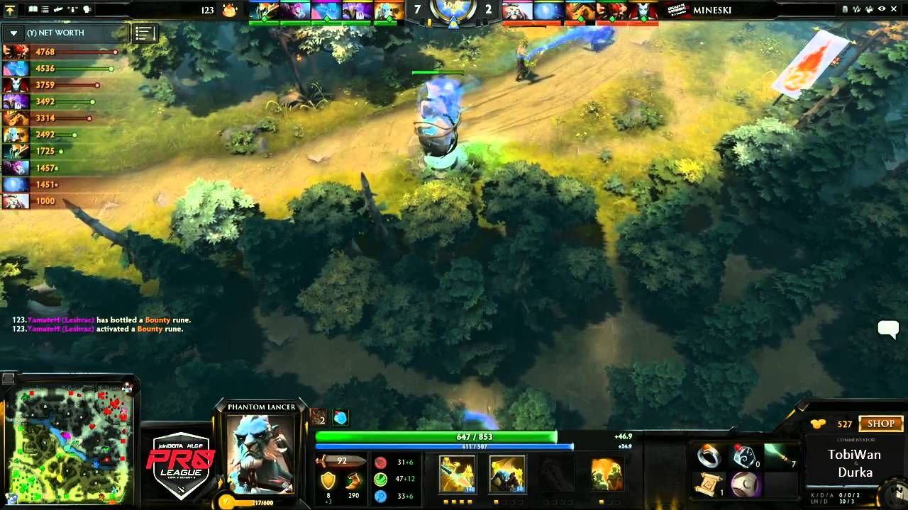 Mineski vs 123 Game 2 - joinDOTA League Season 6 - @TobiwanDota @DurkaDota