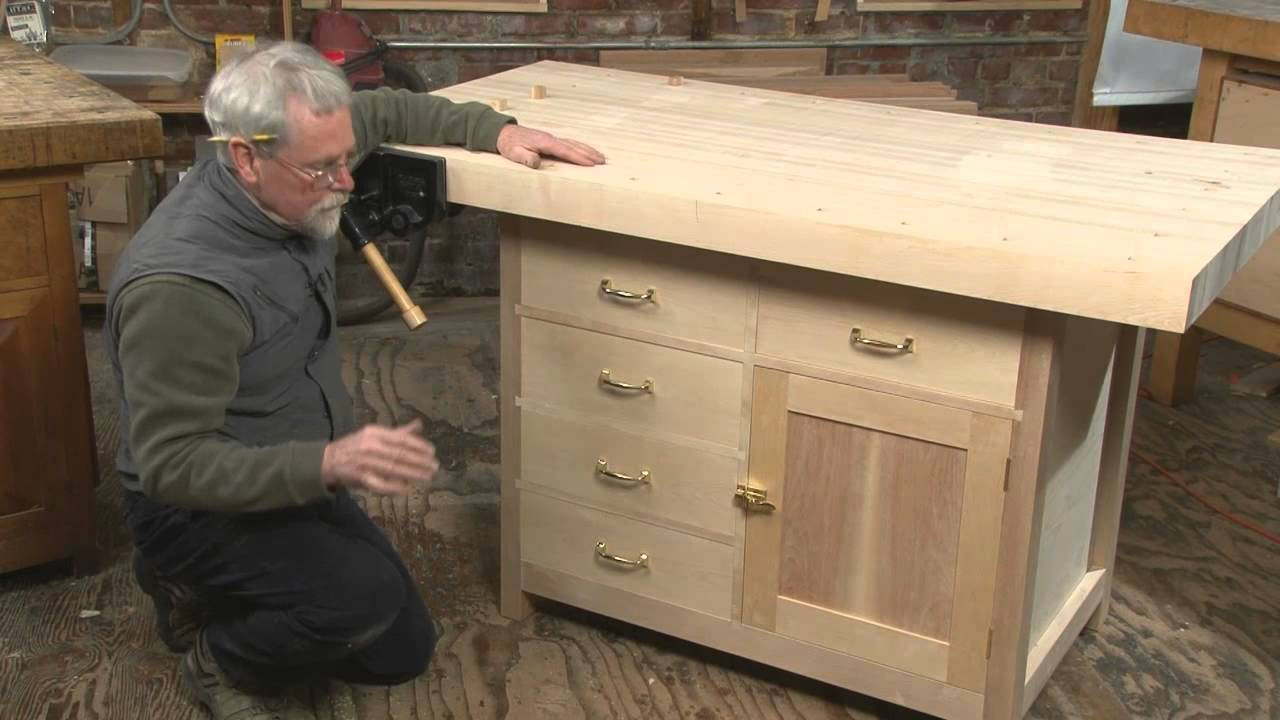 Introduction Basic Workbench With Built In Storage Youtube
