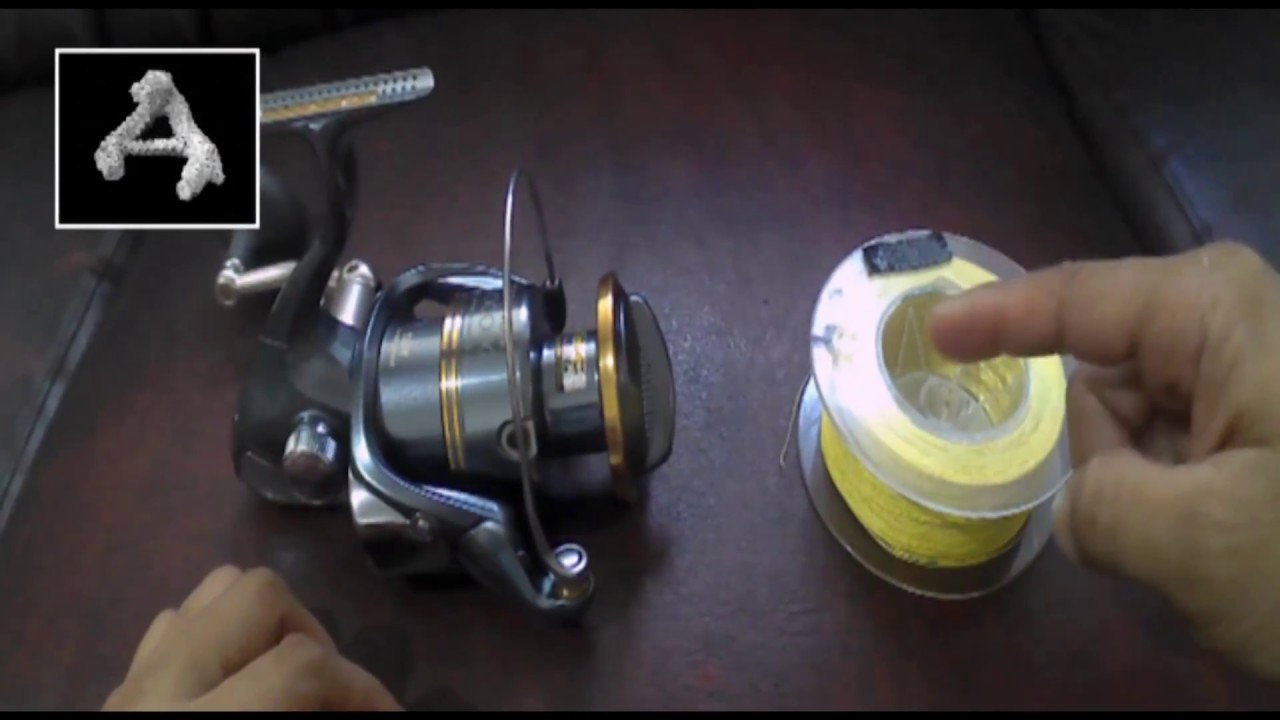 Cara mengikat tali pancing ke reel how to tie fishing for Tying fishing line to reel