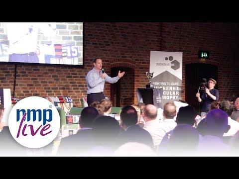 Kyran Bracken - England rugby player - speaking clips