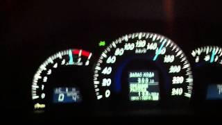 Разгон Toyota Camry 2012 V6 3.5L