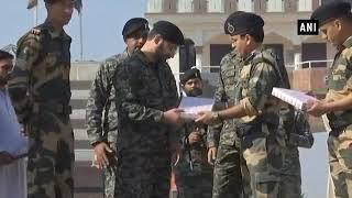 India, Pakistan troops exchange Diwali sweets at Wagah Border