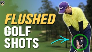 Golf Hands Low Through Impact ➜ Flush Your Golf Shots