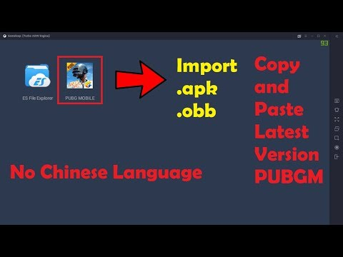 How To Import .apk And .obb File In Tencent Gaming Buddy PUBGM 0.13.0 | Tencent Now Gameloop