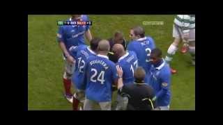Celtic V Rangers Flashpoints