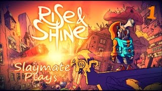 Rise & Shine - Part 1 - (PC) Gameplay. A Hero Rises. Puzzle-Platformer Action-Adventure Shooter.